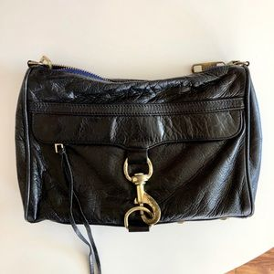 Rebecca Minkoff M.A.C. Crossbody Bag Gold Accents
